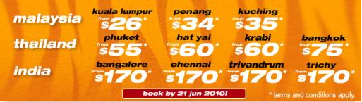 Các chặng bay khuyến mại trước từ 17/06 - 21/06/2010.Ảnh TR.