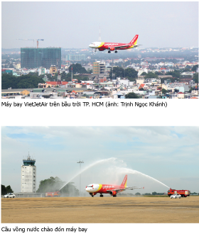 may bay vietjet air