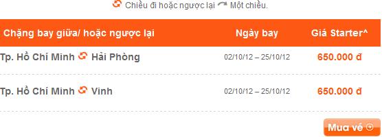 Cap nhat khuyen mai jetstar thu sau 1/6/2012