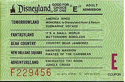 Vé điện tử thập niên 50