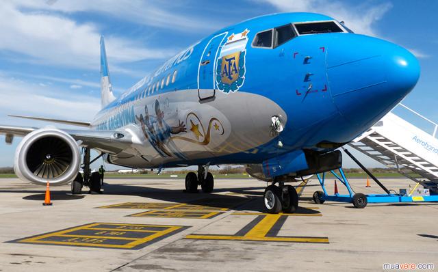 Aerolineas Argentinas Messi
