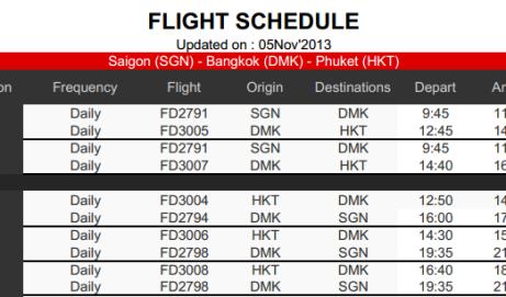Vé máy bay đi Phuket Thái Lan