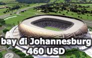 Vé máy bay đi Nam Phi giá rẻ