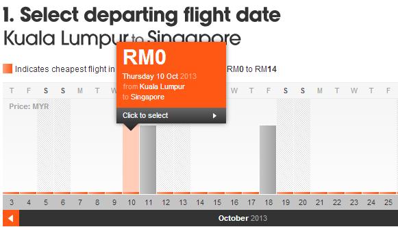 Ve may bay Kuala Lumpur di Singapore
