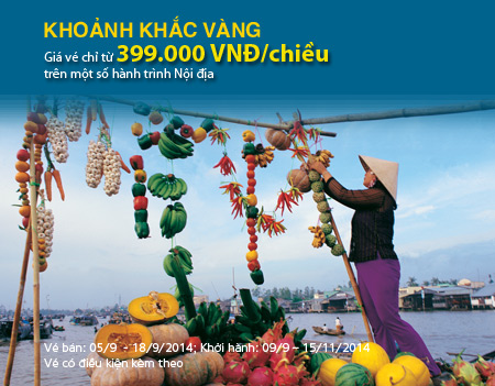 khoanh khac vang so 13 Vietnam Airlines