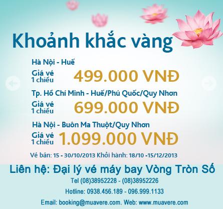 Khoảnh khắc vàng Vietnam Airlines 10/2013.