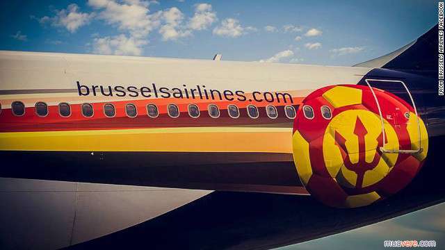 Quỷ đỏ Brussels Airlines World Cup