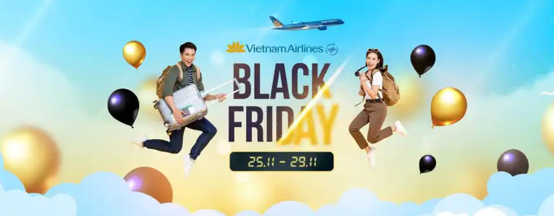Vietnam Airlines giảm giá vé 15% dịp Black Friday 2020