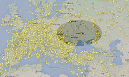 bay vòng tránh không ph?n Ukraine