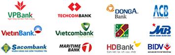 Thanh toán vé máy bay tại muavere.com qua ngân hàng Argibank, Techcombank, Bidv, ACB và nhiều ngân hành khác