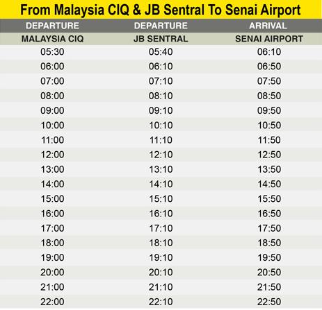 lich-khoi-hanh-Malaysia-CIQ-JB-Sentral-Senai-Airport