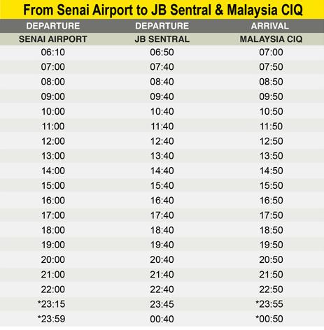 lich-khoi-hanh-Senai-Airport-Malaysia-CIQ-JB-Sentral-
