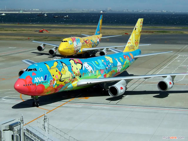 pokemon-plane-jet-japan-world-cup đã đánh lừa fan world cup