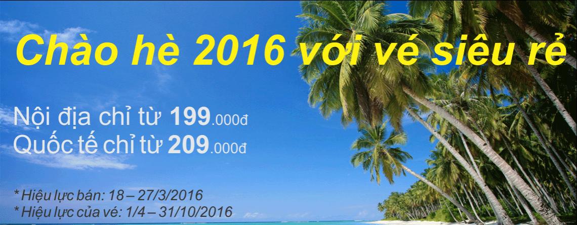 Vietnam Airlines mở vé khuyến mại chào hè 2016: cơ hội đi du lịch mùa hè giá rẻ