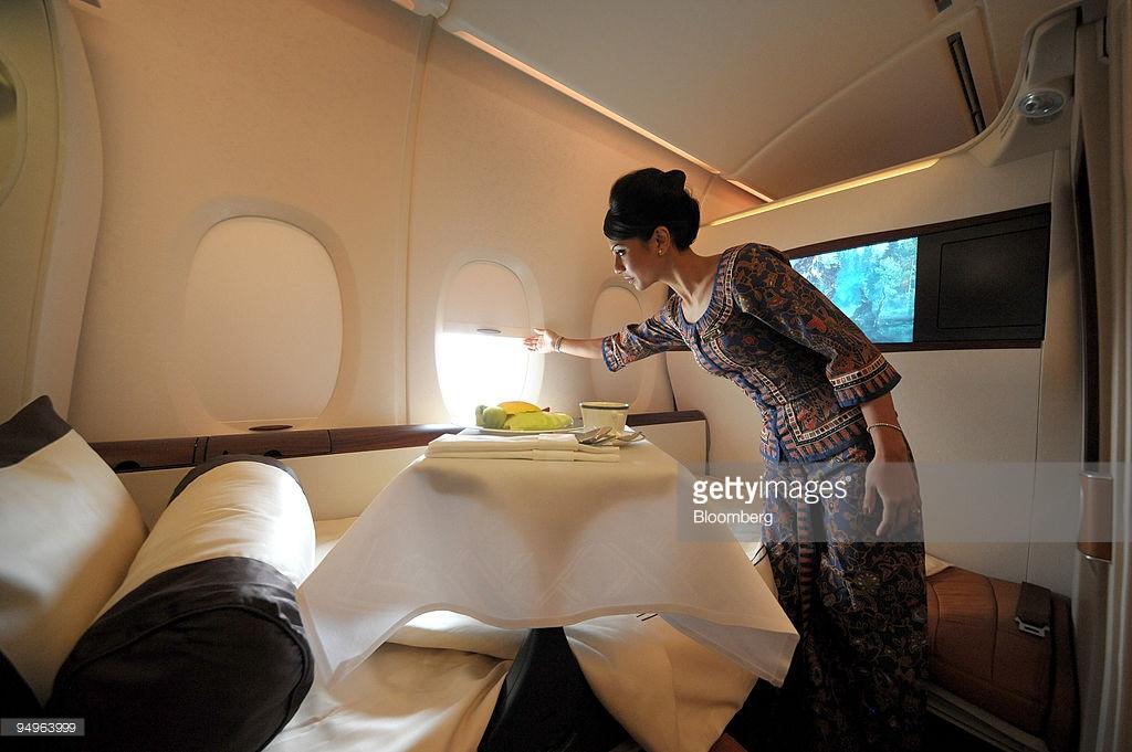 Tiep vien Signapore Airlines
