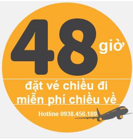 Tiger Air miễn phí vé máy bay 1 chiều